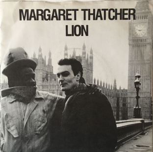 "Lion - Margaret Thatcher (7"") (EX/VG)"